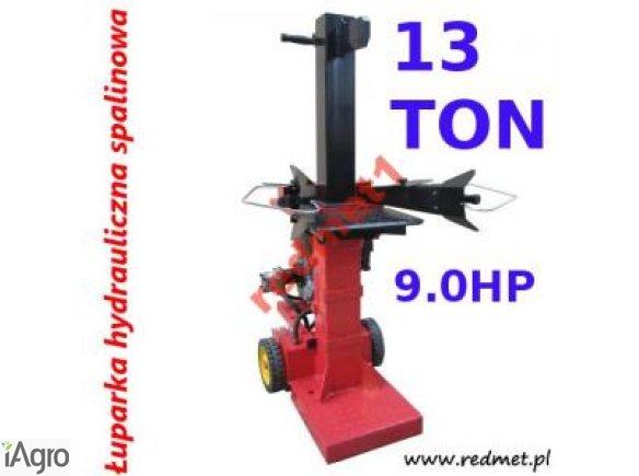 Łuparkę hydrauliczną pionową ŁHS-13T - 9KM
