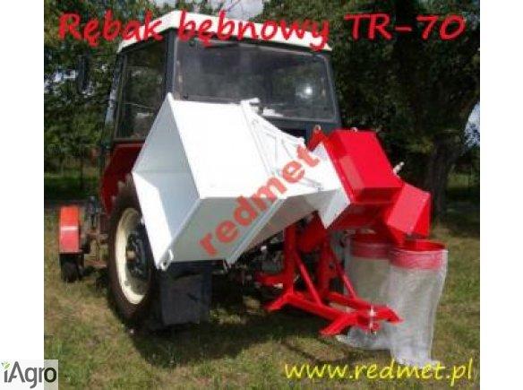 Rębak bębnowy model: TR-70 WOM z systemem workującym