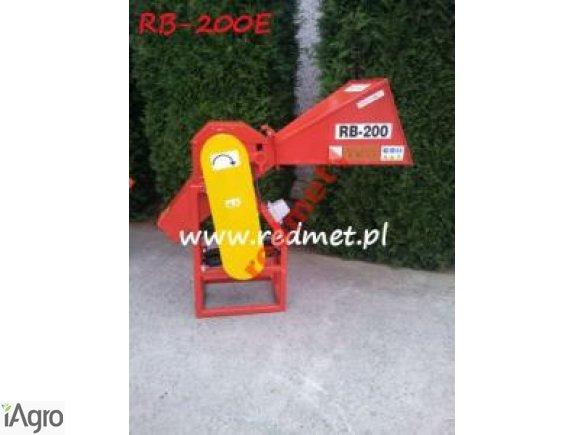 Rębak bębnowy RB-200E    z wałkiem podającym