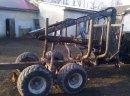 Wózek leśny przyczepa hds Palms 620 8 ton