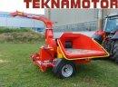 Ciągnikowy rębak bębnowy Skorpion 350RB - Teknamotor