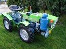 MikroCiągnik ogrodniczy - sadowniczy TZ 4I/4k Diesel 4x4