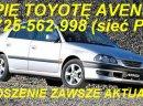 Kupię Toyotę Corolle E8 E9 E10 E11 E12 E13 E15 kupie Toyotę Avensis tel.725 562 998 (sieć Plus) kupię Toyotę Avensis Carine Yaris Starlet Picnic i inne mogą być uszkodzone do remontu lub poprawek blacharsko-lakierniczych. kupie mercedesa 190 W201 124 W124