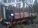 Przyczepa leśna Weimer  z HDS 10 ton