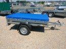NOWA przyczepa Brenderup 1205S DMC 750kg solidna jakość