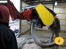 Mieszalnik betonu cementu paszy pasz Łyżka Betoniarka do ładowarki ładowacza