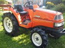 Taktorek Mini Traktor Kubota X24 Saturn 4x4 4 cylindy- oryginalny lakier/ Jak iseki, yanmar, hinomoto