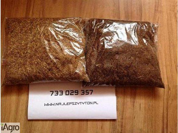 Tyton papierosowy, wysokiej klasy tytonie o jakości sklepowej - 1kg 85 zł