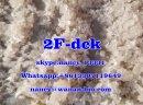 Buy 2-FDCK 2FDCK 2-Fluorodeschloroketamine crystalline powder high quality