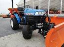 Traktor odśnieżarka piaskarka pług hydrauliczny ISEKI TM215 Hydrostat
