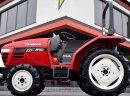 Mini traktorek ogrodniczy komunalny Yanmar AF 210 wspomaganie rewers