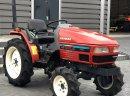 YANMAR AF220s MiniTraktor sadowniczy ogrodniczy 4WD 22KM wspomaganie