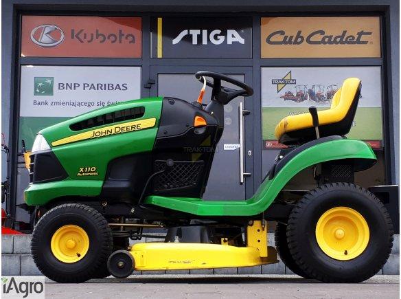 2 noże I I Traktorek kosiarka mulczer John Deere X110 18,5 HP 106 cm