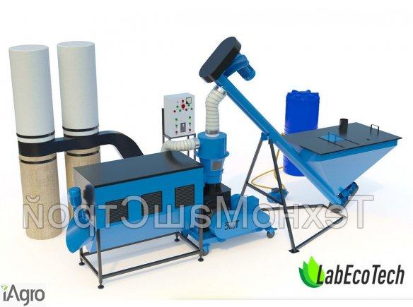 Granulator / Linia do produkcji pelletu/ granulacji MLG-500 COMBI | 14kW
